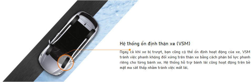 he thong on dinh than xe